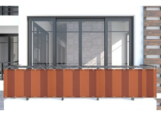 Brise vue dickson Color Bloc Orange d332
