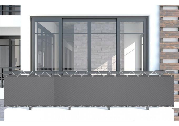 brise vue ardoise beige dickson orchestra 8203 sur mesure. Black Bedroom Furniture Sets. Home Design Ideas