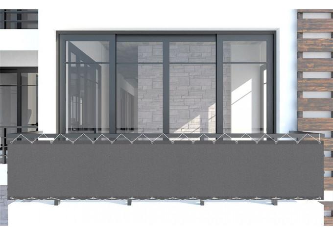 brise vue ardoise gris dickson orchestra max 8203max. Black Bedroom Furniture Sets. Home Design Ideas