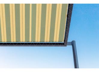 Toile de pergola mexico jaune Sauleda Sensation 2151