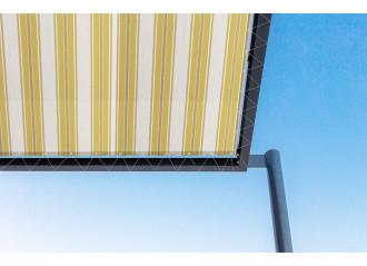 Toile de pergola teide jaune Sauleda Sensation 2228