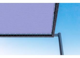 Toile de pergola Violette violet Sauleda Sensation 2252