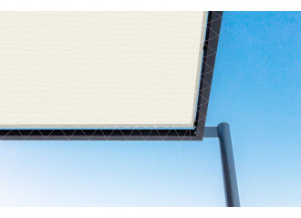 Toile de pergola natural-r beige Sauleda Sensation 2926
