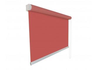 Store enrouleur sur mesure tamisant 5% rouge cristal