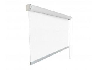 Store enrouleur sur mesure screen tamisant 5% blanc cristal