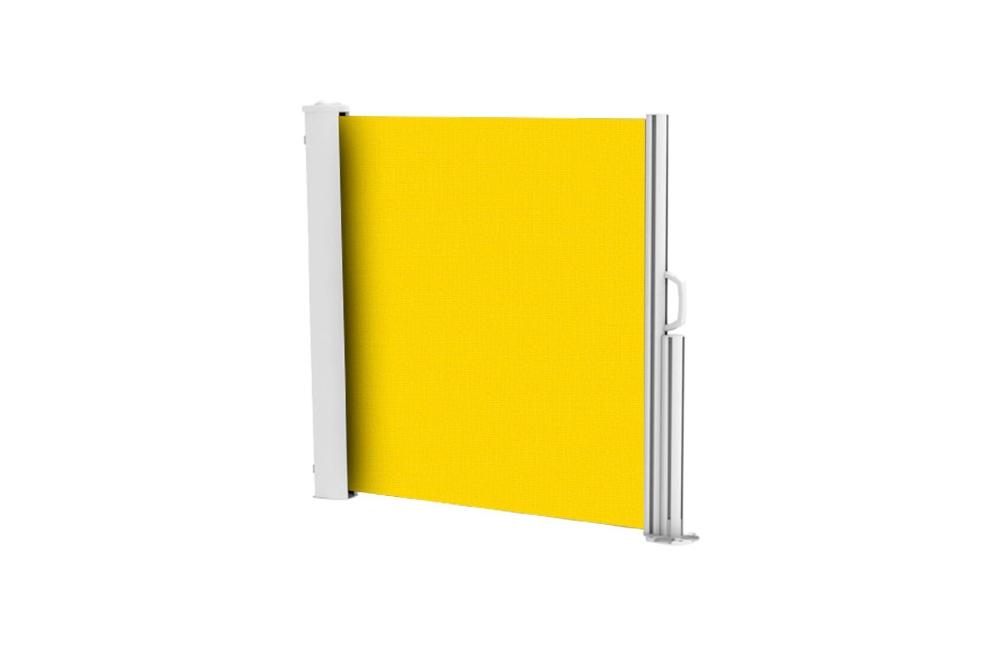 brise vue r tractable ultra r sistant avec toile soltis 92 jaune 2166. Black Bedroom Furniture Sets. Home Design Ideas