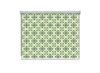 Store enrouleur occultant sur mesure effet Mosaique
