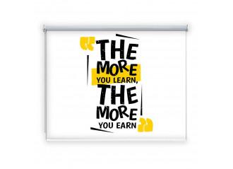 Store enrouleur occultant sur mesure The more you learn