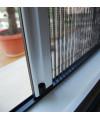 Moustiquaire plissée pour fenêtre 1 vantail sur mesure