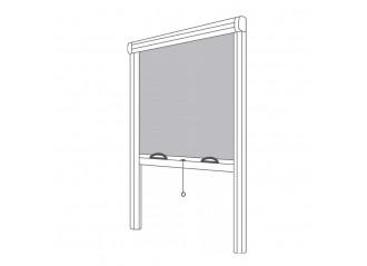 Moustiquaire de fenêtre enroulable verticale sur mesure