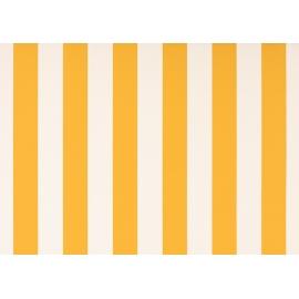 Lambrequin blanc-jaune blanc dickson orchestra 8553