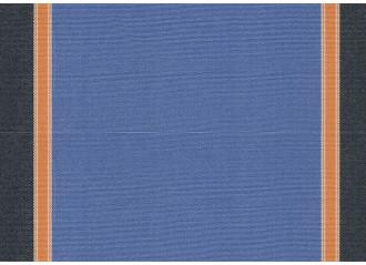 Lambrequin florida bleu Sauleda Sensation 2804