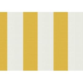 Toile au metre Jaune-Blanc jaune Sauleda Sensation 2015