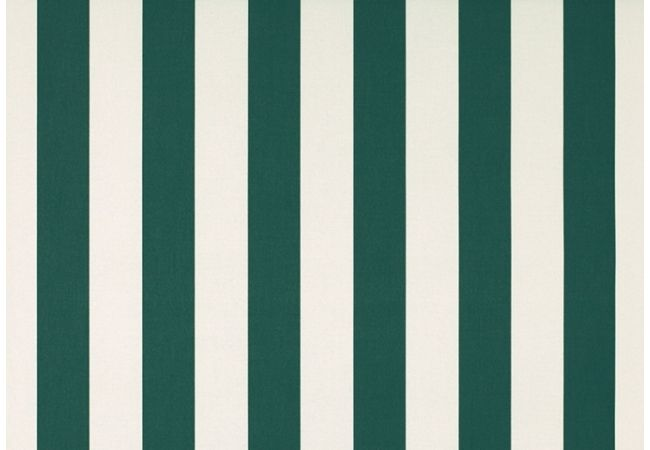 Toile au metre blanc-vert blanc dickson orchestra 8402
