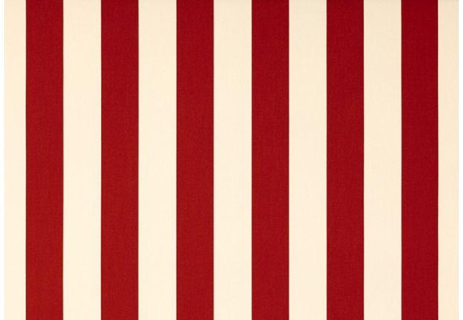 toile au m tre creme rouge blanc dickson orchestra 8557. Black Bedroom Furniture Sets. Home Design Ideas