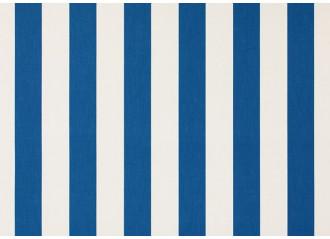 Toile au metre blanc-bleu blanc dickson orchestra 8910