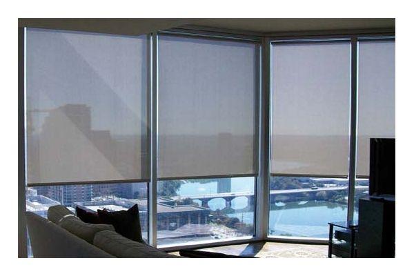 store enrouleur sur mesure screen tamisant 5 gris fonc. Black Bedroom Furniture Sets. Home Design Ideas