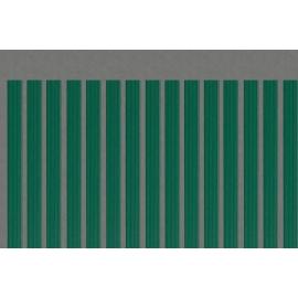 Pack de 45 lames occultantes vertes en PVC pour maille 50mm