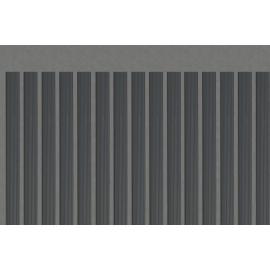 Pack de 45 lames occultantes grises en PVC pour maille 50mm