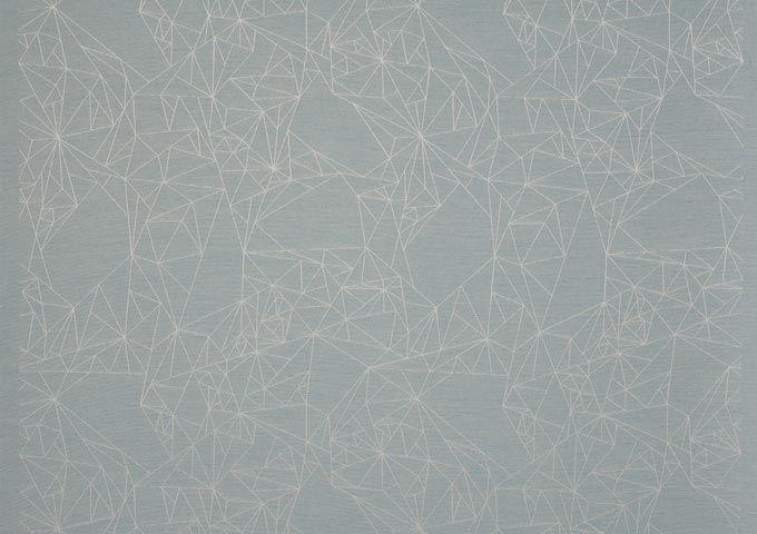 Lambrequin dickson Constellation Blue j180