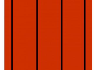 Brise vue Latim A440 11/2 orange et noir