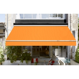 Toile de store mandarine Dickson orchestra 0867