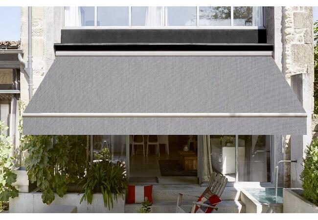toile de store banne dickson orchestra souris gris sur. Black Bedroom Furniture Sets. Home Design Ideas