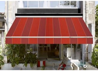 Toile de store color bloc red Dickson orchestra d335